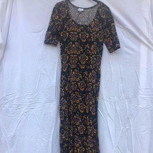 One of a Kind LuLaRoe Ana Dress M